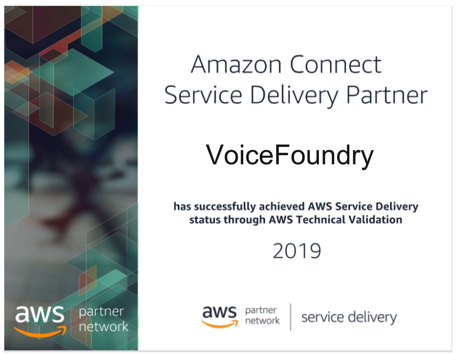 AWS Service Delivery Partner Designation